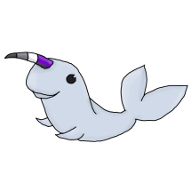 Ace Narwhal (Redbubble)