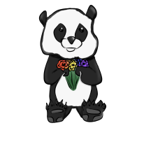 Gay Panda (Redbubble)