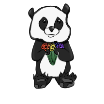 Gay Panda (Redbubble)