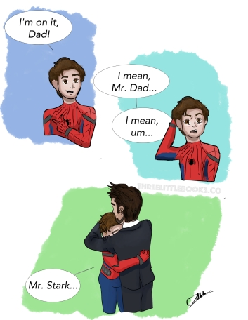 Spiderman Mr. Stark comic