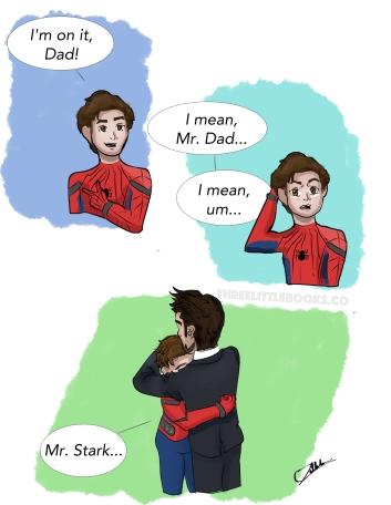 Spiderman Mr. Stark comic